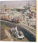 Disneyland Opening, 1955 Wood Print
