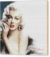 Diva Mm 169 Q Wood Print