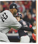 Divisional Round - New York Yankees V Wood Print