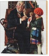 Doctor And The Doll Wood Print