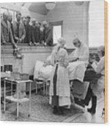 Doctors Watching Surgery In Tottenham Wood Print