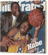 Does Kobe Have The Magic Sports Illustrated Cover Wood Print