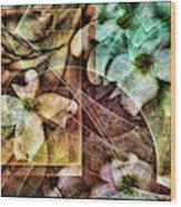 Dogwood Abstract Wood Print