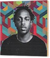 Don't Kill My Vibe Kendrick Wood Print