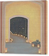 Doorway To The Festival Of Lights Wood Print