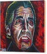 Dracula Lee  Wood Print