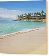 Dream Beach Napili Bay Maui Hawaii Wood Print