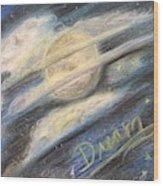 Dream Moon Wood Print