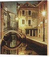 Dreaming Venice Wood Print