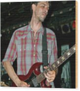 Drive By Truckers Guitarist Mike Cooley Wood Print