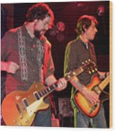 Drive By Truckers Patterson Hood And Mike Cooley  Wood Print
