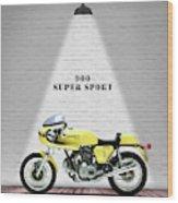 Ducati 900 Super Sport Wood Print