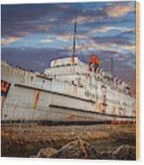 Duke Of Lancaster Ship Wood Print
