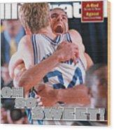 Duke University Shane Battier, 2001 Ncaa National Sports Illustrated Cover Wood Print