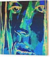 Dying Sun Wood Print