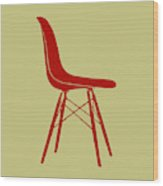 Eames Plastic Side Chair II Wood Print