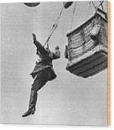 Early Parachute Wood Print