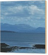 East Shores Of Isle Of Skye Wood Print