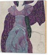 Echo Abandonée, 1922, 1923 Wood Print
