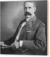 Edward Elgar Studio Portrait Wood Print