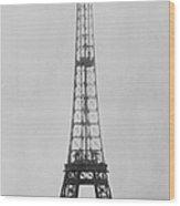 Eiffel Construction 11 Wood Print