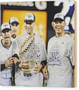 Eight Years To The Day His Blown Save Wood Print