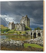 Eilean Donan Castle, Scotland Wood Print