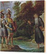 El Mago Descubre A Carlos Y Ubaldo El Paradero De Reinaldo  Wood Print