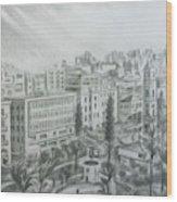 El Mansheya Park - Tripoli Wood Print