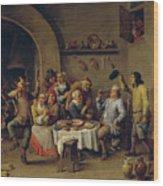 El Rey Bebe   Wood Print