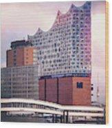 Elbphilharmonie Hamburg Germany  Wood Print