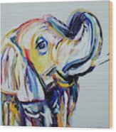 Elephant Tusk Wood Print