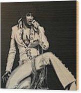 Elvis 1970 - Concho Suit Wood Print