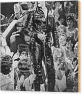 Elvis Presley 68 Comeback Special Wood Print