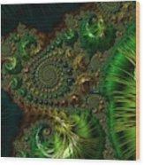 Emerald City. Wood Print