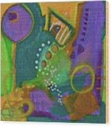 Emerald Dreams Wood Print