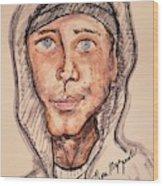 Eminem  Marshall Mathers Wood Print