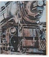 Engine #25 Wood Print