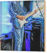 Eric Clapton Slowhand Wood Print