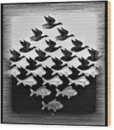 Escher 115 Wood Print