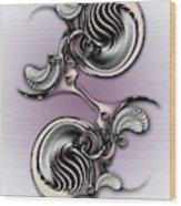 Essentialist Creation Wood Print