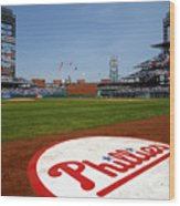 Expos V Phillies Wood Print