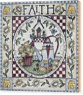 Faith 2 Wood Print