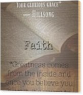 Faith 8002 Wood Print