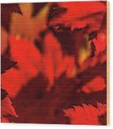 Fall Coffee Mug Wood Print