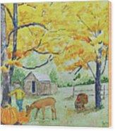 Fall Fun Wood Print
