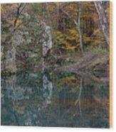 Fall In The Ozarks Wood Print