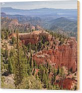 Farview Point - Bryce Canyon - Utah Wood Print