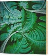 Fern Dance Wood Print