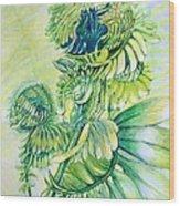 Fiddle Dee Dee Wood Print